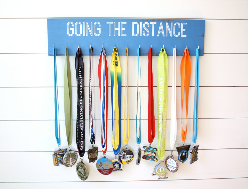 Medal Holder - Going the Distance  - Large - York Sign Shop - 1