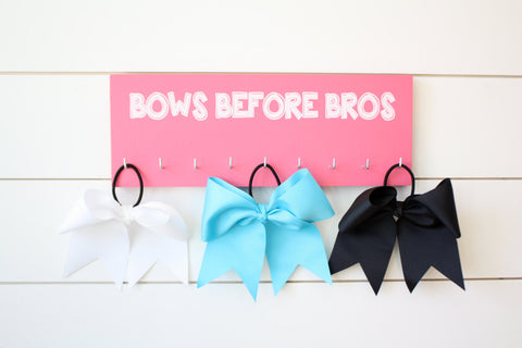 Cheer Medal & Bow Holder - Medium - York Sign Shop - 1