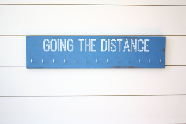 Medal Holder - Going the Distance  - Large - York Sign Shop - 2