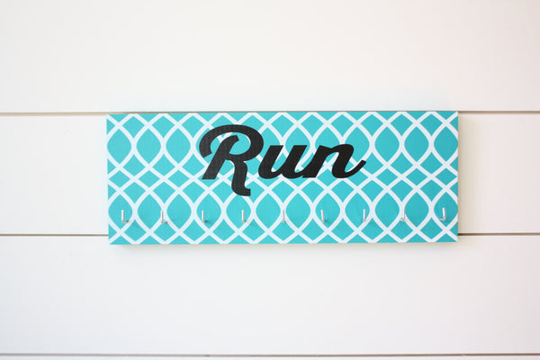 Running Medal Holder - Run - Medium - York Sign Shop - 2