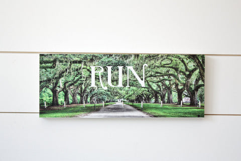 Run Medal Holder - Southern Drive - Medium (Full Color) - York Sign Shop - 1