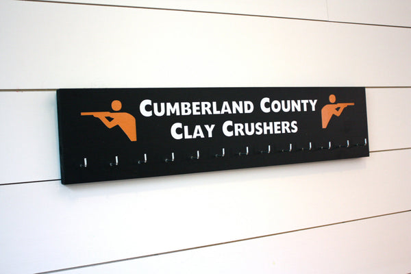 Shooting Medal Holder - Personalize with your team or your name  - Large - York Sign Shop - 2