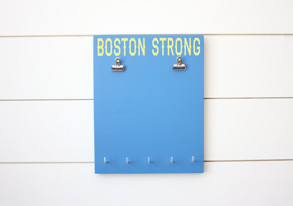 Boston Marathon Race Bib & Medal Holder - Boston Strong - York Sign Shop - 3