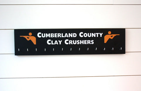 Shooting Medal Holder - Personalize with your team or your name  - Large - York Sign Shop - 1