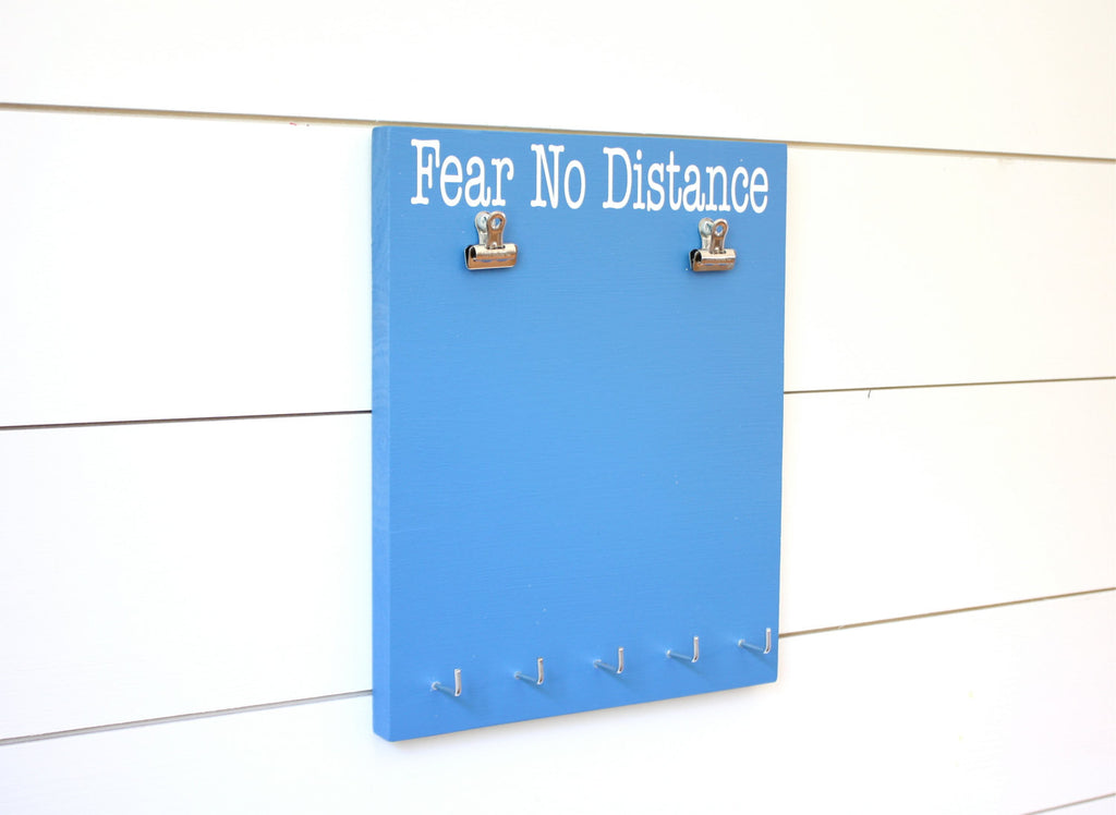 Race Bib and Medal Display -  Fear No Distance - York Sign Shop - 1