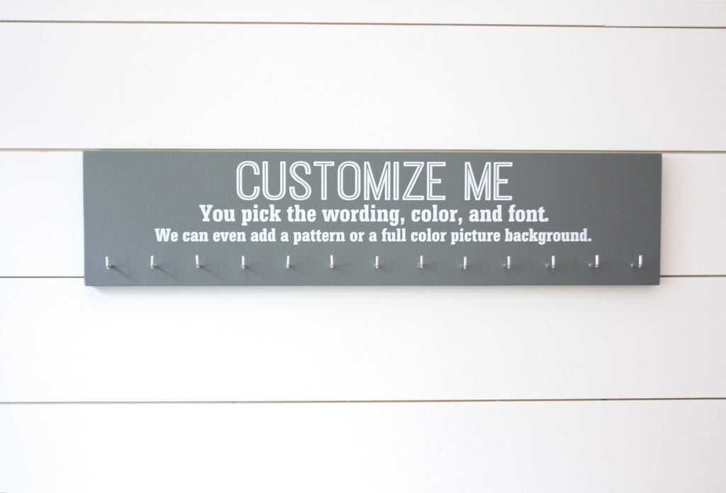 Customizable Large Medal Holder - You design it, we make it! - York Sign Shop - 1