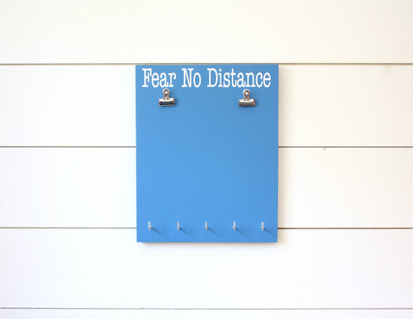 Race Bib and Medal Display -  Fear No Distance - York Sign Shop - 3