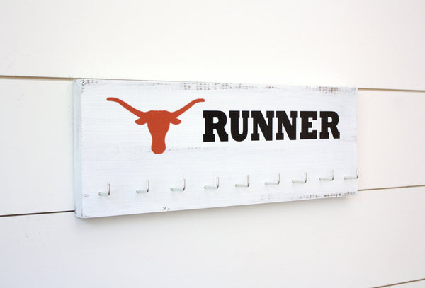 Longhorn Medal Holder - Texas - Medium - York Sign Shop - 2