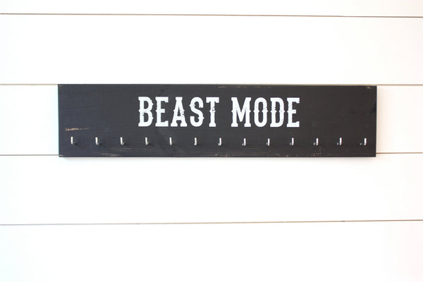 Medal Holder -  Beast Mode - Large - York Sign Shop - 2