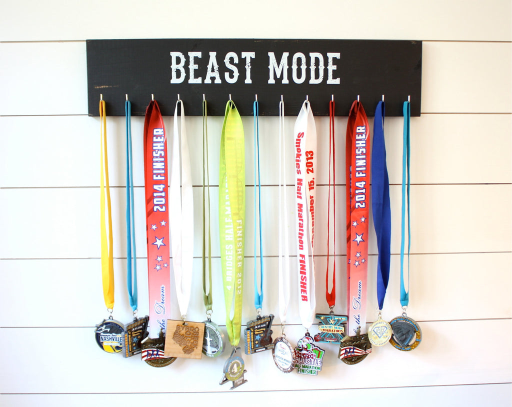 Medal Holder -  Beast Mode - Large - York Sign Shop - 1