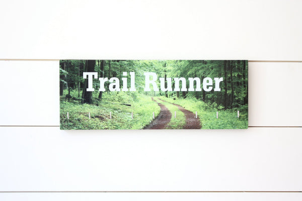 Medal Holder - Trail Runner - Medium - York Sign Shop - 2