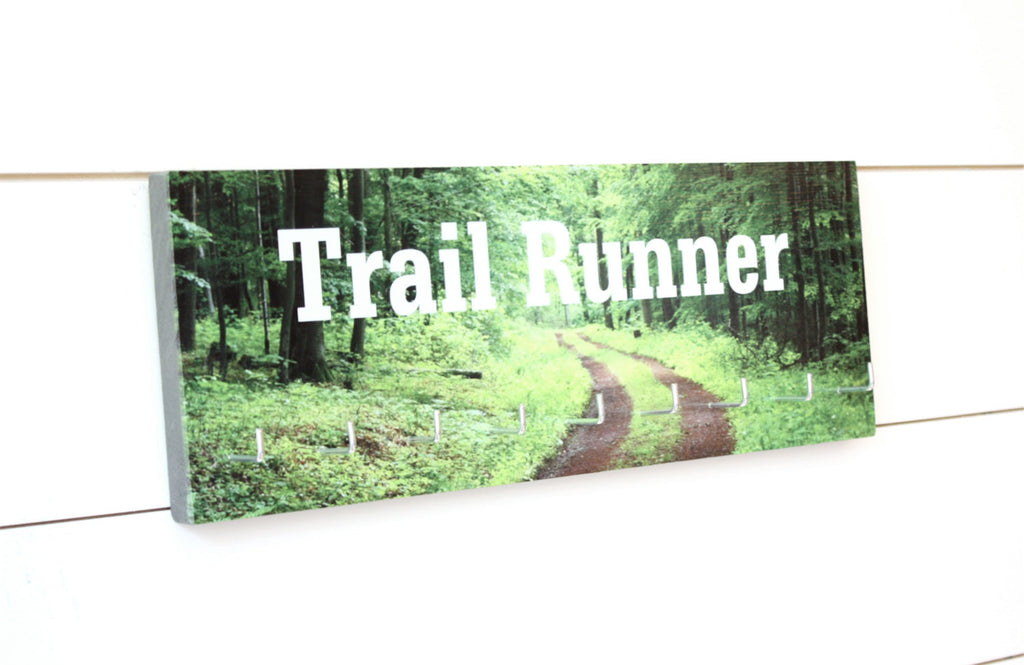 Medal Holder - Trail Runner - Medium - York Sign Shop - 1