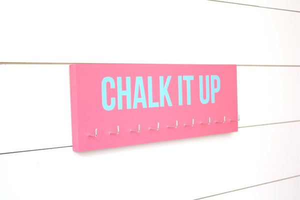 Gymnastics Medal Holder / Display - Chalk it up - Medium - York Sign Shop - 1