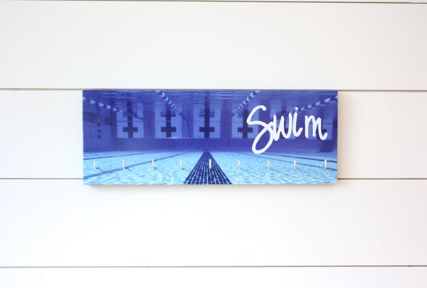 Swim Medal Holder - Underwater photo - Medium - York Sign Shop - 2