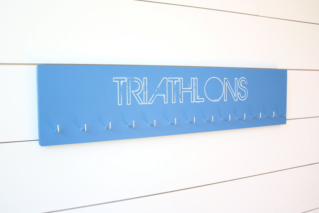 Triathlon Medal Holder - Large - York Sign Shop - 1