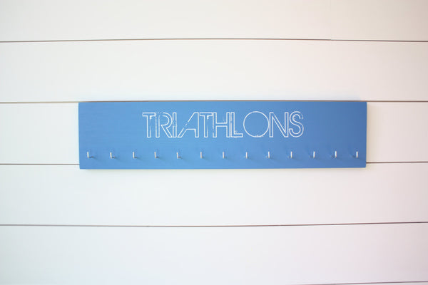 Triathlon Medal Holder - Large - York Sign Shop - 2