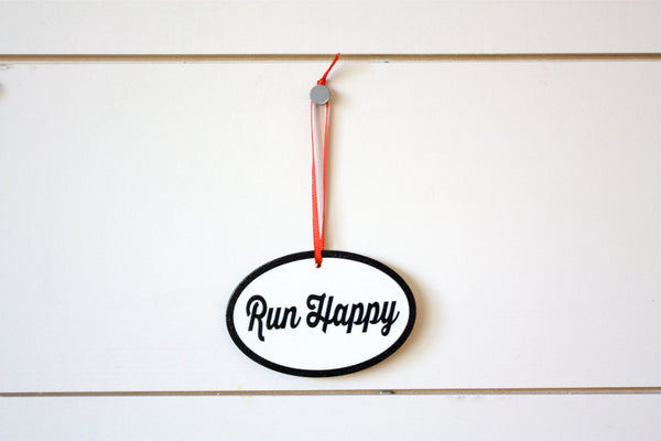 Running Christmas Ornament - Great gift for runners! - York Sign Shop - 2