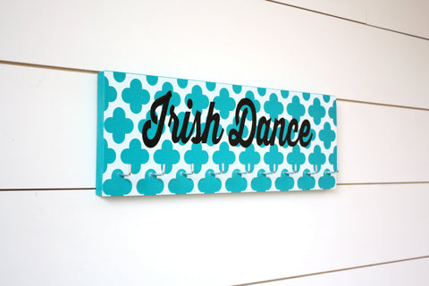 Irish Dance Medal Holder - with Pattern - Medium - York Sign Shop - 1