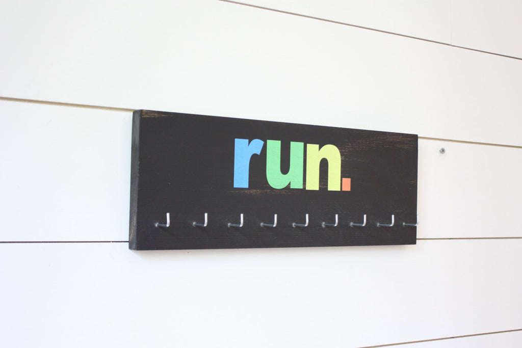 Run Medal Holder - Medium - York Sign Shop - 1