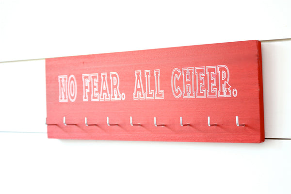Cheerleader Medal & Bow Holder - Cheerleading - Cheer - Medium - York Sign Shop - 2