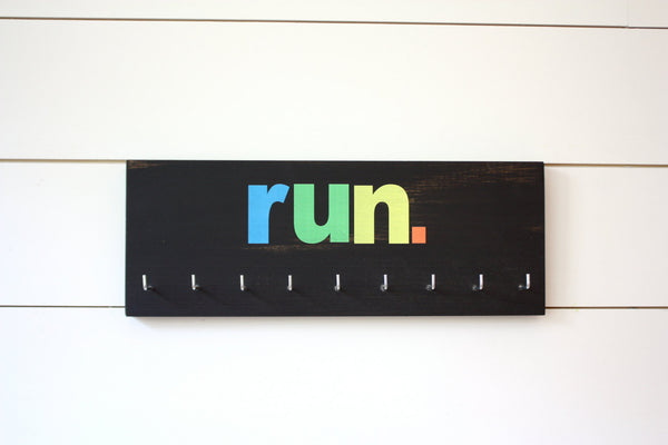 Run Medal Holder - Medium - York Sign Shop - 2