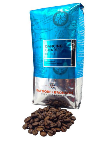 Batdorf & Bronson Coffee Roasters - Dancing Goats blend - Roasted whole bean coffee