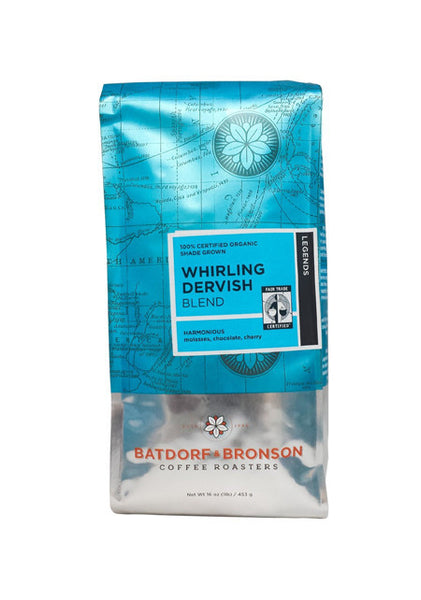 Batdorf & Bronson Coffee Roasters - Organic Whirling Dervish Blend