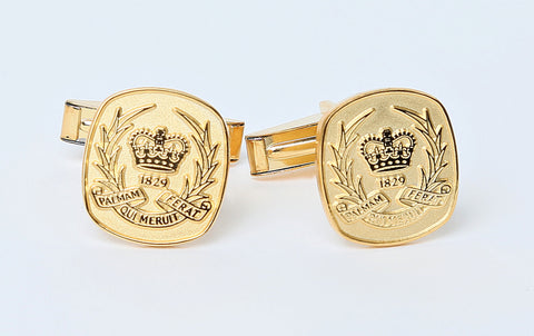 UCC Sterling Silver Gold Plate Cufflinks