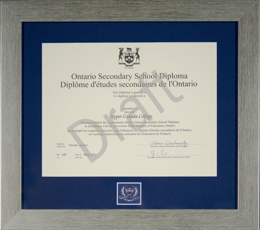 Ontario Secondary School Diploma