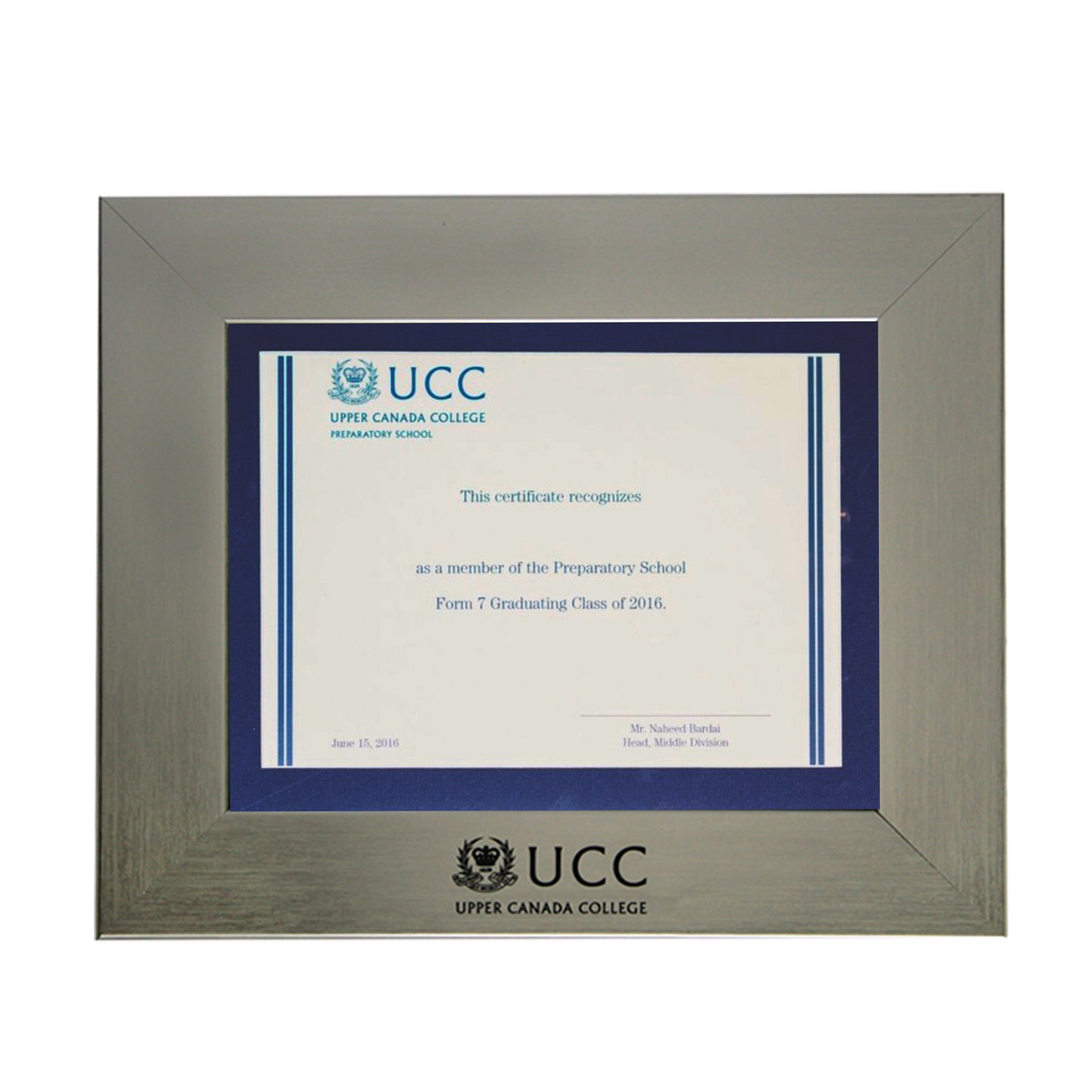 All Frames Upper Canada College Marketplace