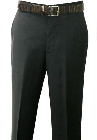 Men's Pants 100% Wool ,Flat Front Classic Fit