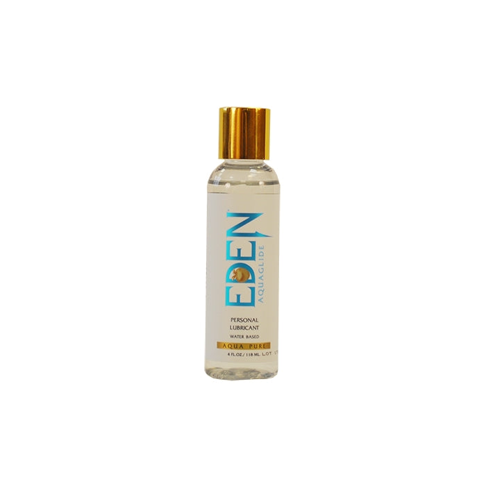 EDEN AQUAGLIDE 4 OZ CLEAR BOTTLE