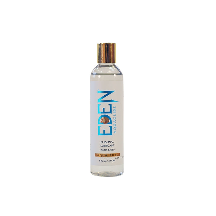 EDEN AQUAGLIDE 8 OZ CLEAR BOTTLE