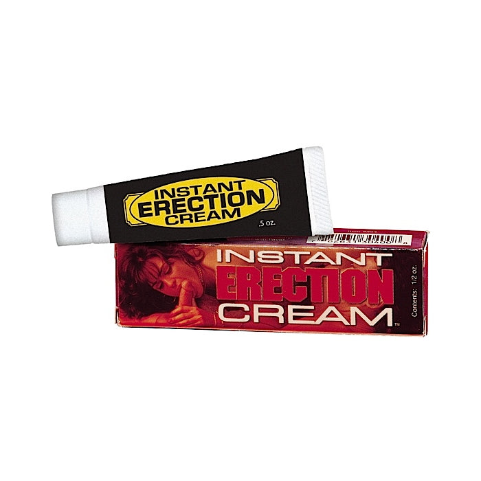 INSTANT ERECTION CREAM .5 OZ.