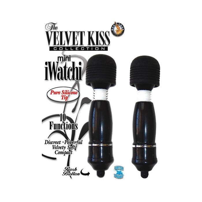 THE VELVET KISS COLLECTION MINI IWATCHI  - BLACK