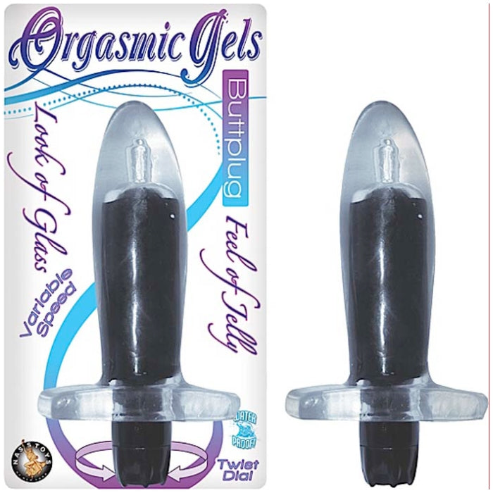 ORGASMIC GELS BUTTPLUG - PACK