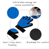 Grooming Mitt for Extra Furry Dogs & Cats