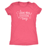 Love You Long Time Dachshund T-Shirt