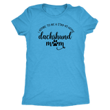 Stay at Home Dachshund Mom T-Shirt