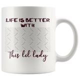 Life Is Better With This Lil Dachshund Personalized Mug