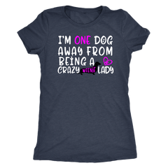 Crazy Weenie Lady Dachshund Lovers T-Shirt