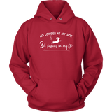 No Longer at my Side Furever in my Heart Dachshund Hoodie