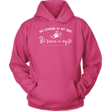 No Longer at my Side Furever in my Heart Memorial Hoodie