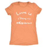 Love is Being a Rescue Mom T Shirt