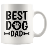 Best Dog Dad Coffee Mug