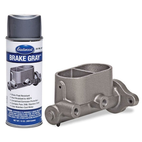 Spray Tinta Cinza Resistente ao Líquido de Travões - Eastwood Brake Gray