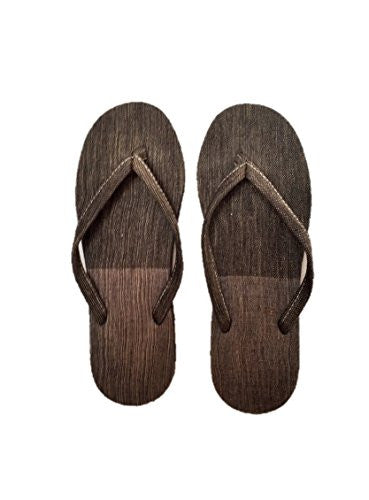 "NUNO Sandals: ""Basho"" (Black/Gray, Small)"