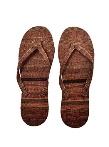 "NUNO Sandals: ""Basho"" (Red//Black/Beige, Medium)"