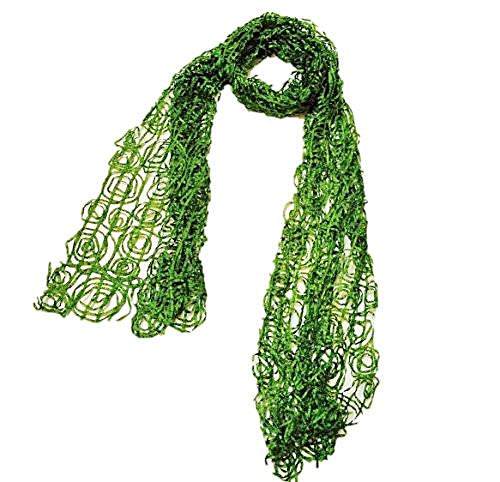 "NUNO Scarf: ""Paper Roll"" (Green)"
