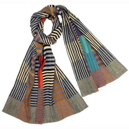 "NUNO Shawl: ""Color Plates"" (Multicolored)"